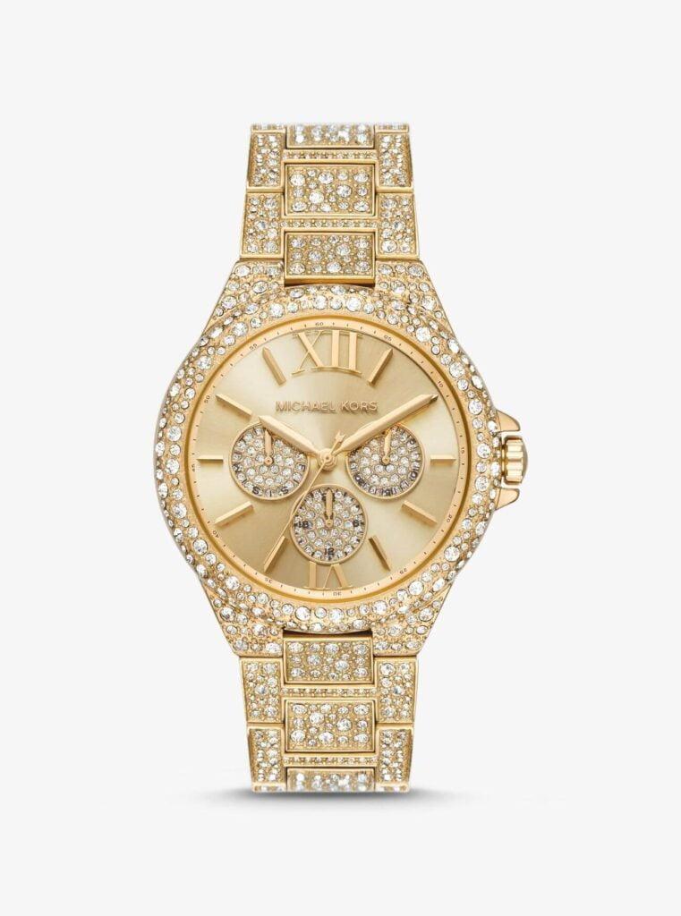 Michael Kors Watch gold-tone Price in nepal (MK6957)